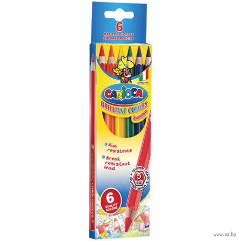 "Цветные карандаши ""Jumbo"" (6 цветов)"