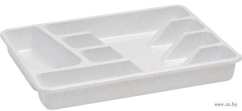 Лоток для кухонных принадлежностей пластмассовый (333х260х45 мм)