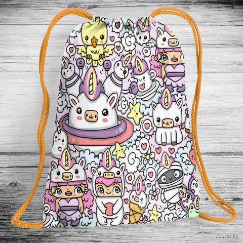 """Рюкзак-мешок """"Маскарад"""" (арт. 7) — фото, картинка"""