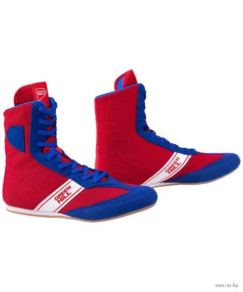 """Обувь для бокса """"Special LSB-1801"""" (р. 40; сине-красная) — фото, картинка"""