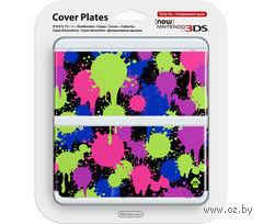 Декоративная крышка Splatoon для игровой консоли New Nintendo 3DS/NEW3DS