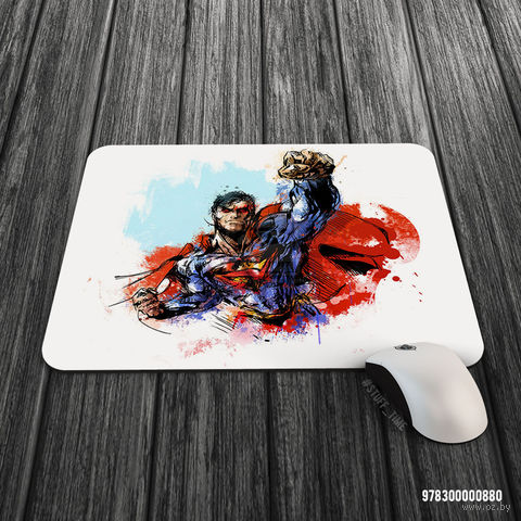 """Коврик для мыши большой """"Супермен"""" (880)"""