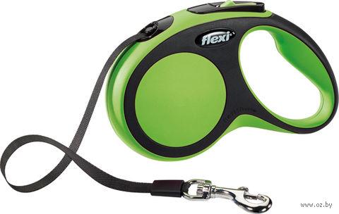 """Поводок-рулетка """"New Comfort"""" (до 15 кг; зеленый) — фото, картинка"""
