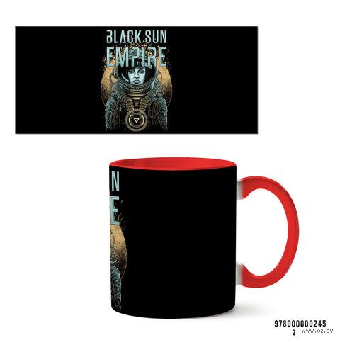 """Кружка """"Black sun empire"""" (245, красная)"""