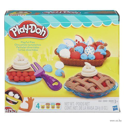 """Набор для лепки """"Play-Doh. Ягодные тарталетки"""" — фото, картинка"""