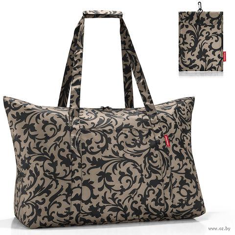 "Сумка складная ""Mini maxi travelbag"" (baroque taupe)"