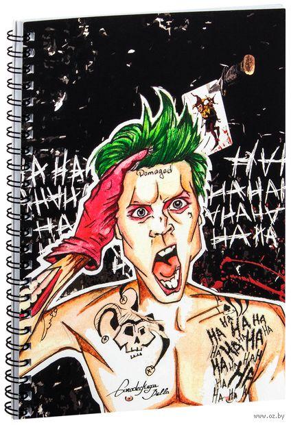 """Блокнот в клетку """"Джокер"""" (A5; арт. 1237) — фото, картинка"""