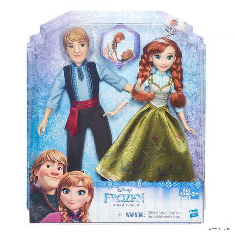 "Набор кукл ""Disney. Холодное сердце. Анна и Кристоф"""