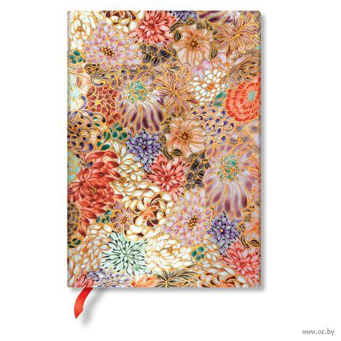 "Записная книжка Paperblanks ""Кикка"" в линейку (130х180 мм) — фото, картинка"
