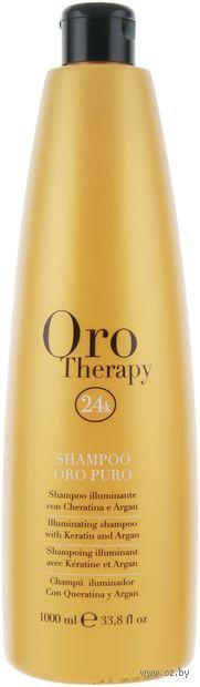 "Шампунь для волос ""Oro Puro"" (1 л) — фото, картинка"