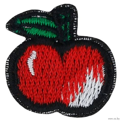 """Термоаппликация """"Красное яблоко"""" — фото, картинка"""
