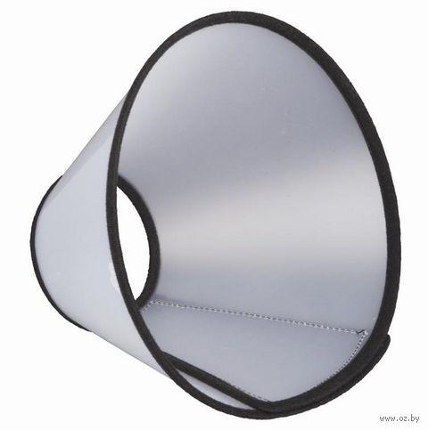 """Воротник защитный на липучке для собак """"Velcro"""" (L; 44-53 см/22 см) — фото, картинка"""