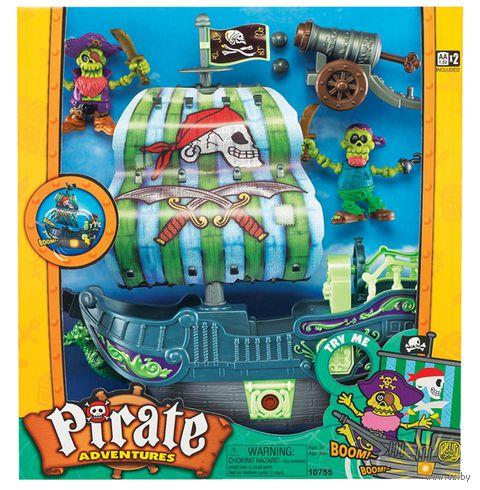 """Игровой набор """"Приключения пиратов"""" (со световыми и звуковыми эффектами; арт.10755)"""
