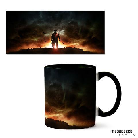"""Кружка """"Battlefield"""" (черная) — фото, картинка"""