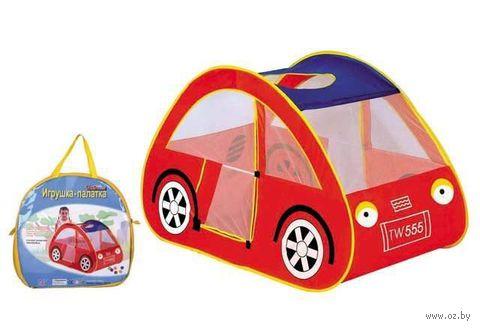 """Детская игровая палатка """"Машинка"""" — фото, картинка"""