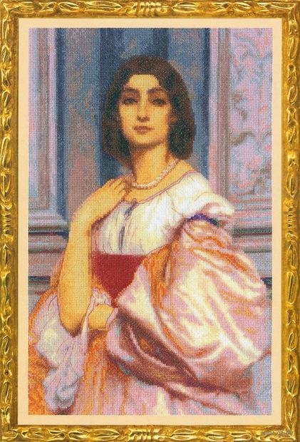 """Вышивка крестом """"Римская женщина"""""""