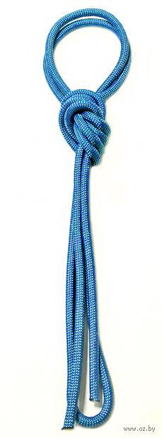 Скакалка для художественной гимнастики Pro 10103 (синяя) — фото, картинка