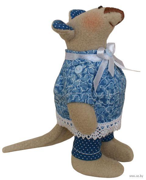 """Набор для шитья из ткани """"Мышка флисовая"""" — фото, картинка"""