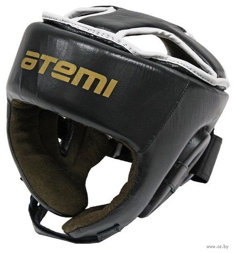 Шлем боксёрский (S; чёрный; арт. LTB19701) — фото, картинка
