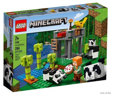 """LEGO Minecraft """"Питомник панд"""" — фото, картинка"""