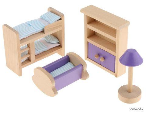 """Набор мебели для кукол """"Детская"""" (арт. TNWX-6201) — фото, картинка"""