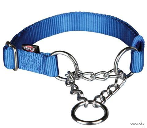 "Ошейник строгий для собак ""Premium"" (размер M-L; 35-50 см; синий)"