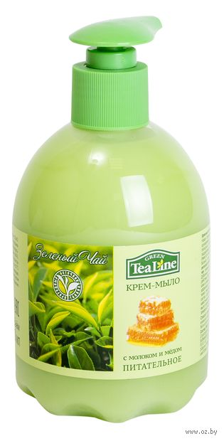"""Жидкое мыло """"Зеленый чай с молоком и медом"""" (500 мл) — фото, картинка"""