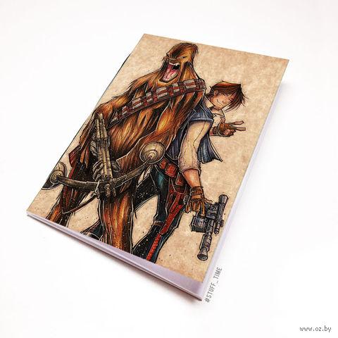 """Блокнот крафт """"Звездные войны"""" А5 (913)"""
