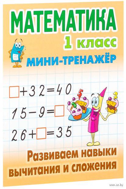 Математика. 1 класс.  Развиваем навыки вычитания и сложения