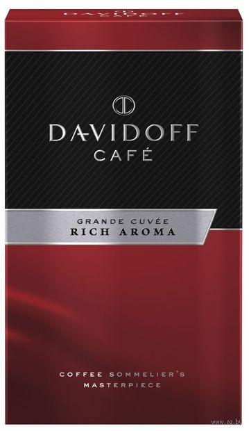 "Кофе молотый ""Davidoff. Rich Aroma "" (250 г) — фото, картинка"