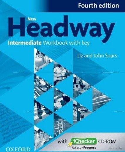New Headway. Intermediate. Workbook with Key (+ CD). Джон Сорс, Лиз Сорс