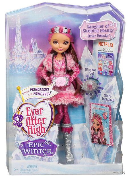 """Кукла """"Ever After High. Заколдованная зима. Браер Бьюти"""""""