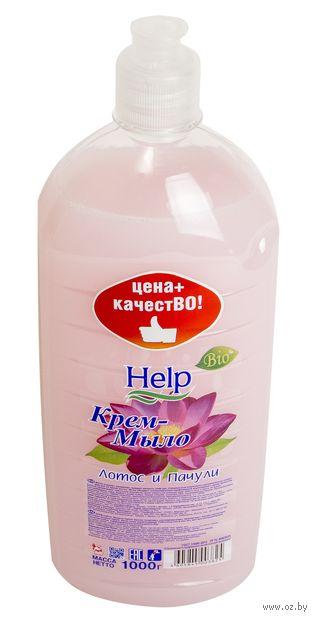 """Жидкое крем-мыло """"Лотос и пачули"""" (1000 г) — фото, картинка"""