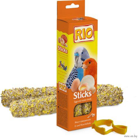 Лакомство для птиц (2 шт.; с яйцом и ракушечником) — фото, картинка