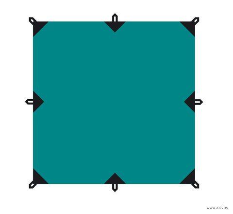 Тент (3x3 м; зелёный) — фото, картинка