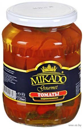 """Томаты маринованные """"Mikado"""" (720 мл) — фото, картинка"""