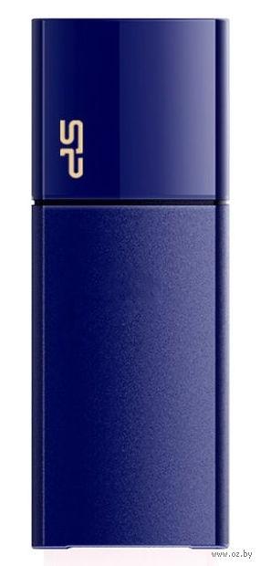 USB Flash Drive 16Gb Silicon Power Blaze B05 USB 3.0 (Deep Blue)
