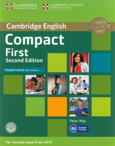 Compact First. B2. Student`s Book with Answers (+ CD). Питер Мей