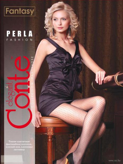 """Колготки женские фантазийные """"Conte. Perla"""""""