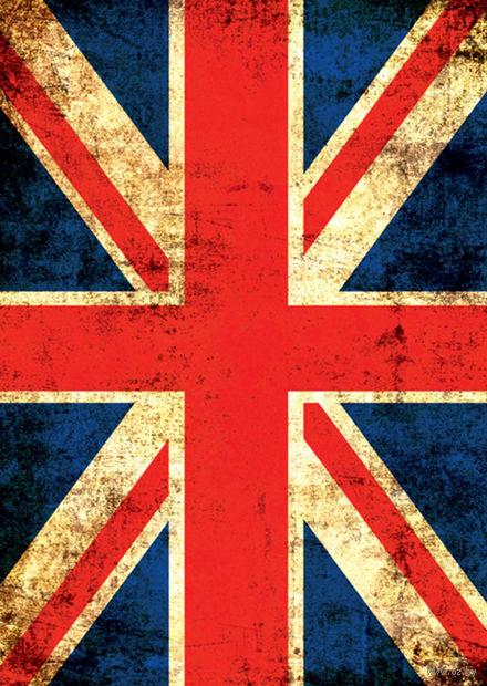 "Записная книжка ""Британский флаг"" (А5)"