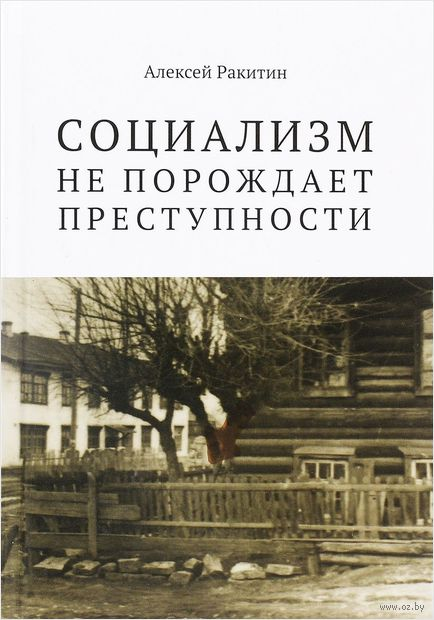 Социализм не порождает преступности. Алексей Ракитин