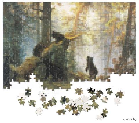 """Пазл """"Пикселюс. Утро в сосновом лесу"""" (260 элементов)"""