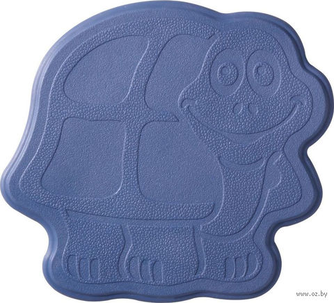 """Коврик для ванной резиновый """"Черепашка"""" (6 шт.; 13х11 см; фиолетовый) — фото, картинка"""