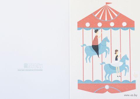 """Набор для изготовления электронной открытки """"Карусель"""" — фото, картинка"""
