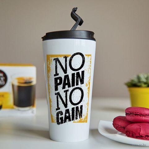 """Термостакан """"No Pain - No Gain"""" (арт. 59) — фото, картинка"""