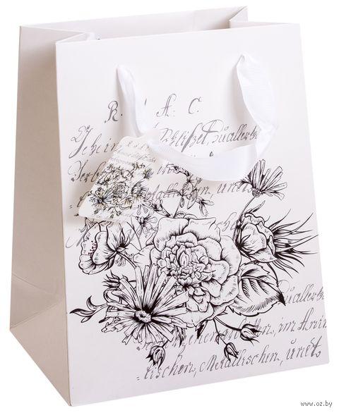 Пакет бумажный подарочный (23х18х9 см) — фото, картинка