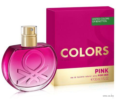"""Туалетная вода для женщин """"Pink"""" (30 мл) — фото, картинка"""