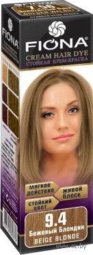 """Крем-краска для волос """"Fiona"""" (тон: 9.4, бежевый блондин)"""