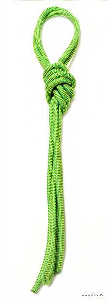 Скакалка для художественной гимнастики Pro 10103 (зелёная) — фото, картинка