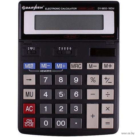 """Калькулятор настольный """"Darvish"""" (16 разрядов; арт. DV-8850-16DM) — фото, картинка"""